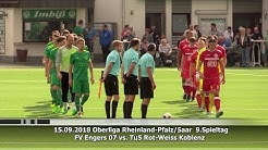 FV Engers 07 vs. TuS Rot-Weiss Koblenz