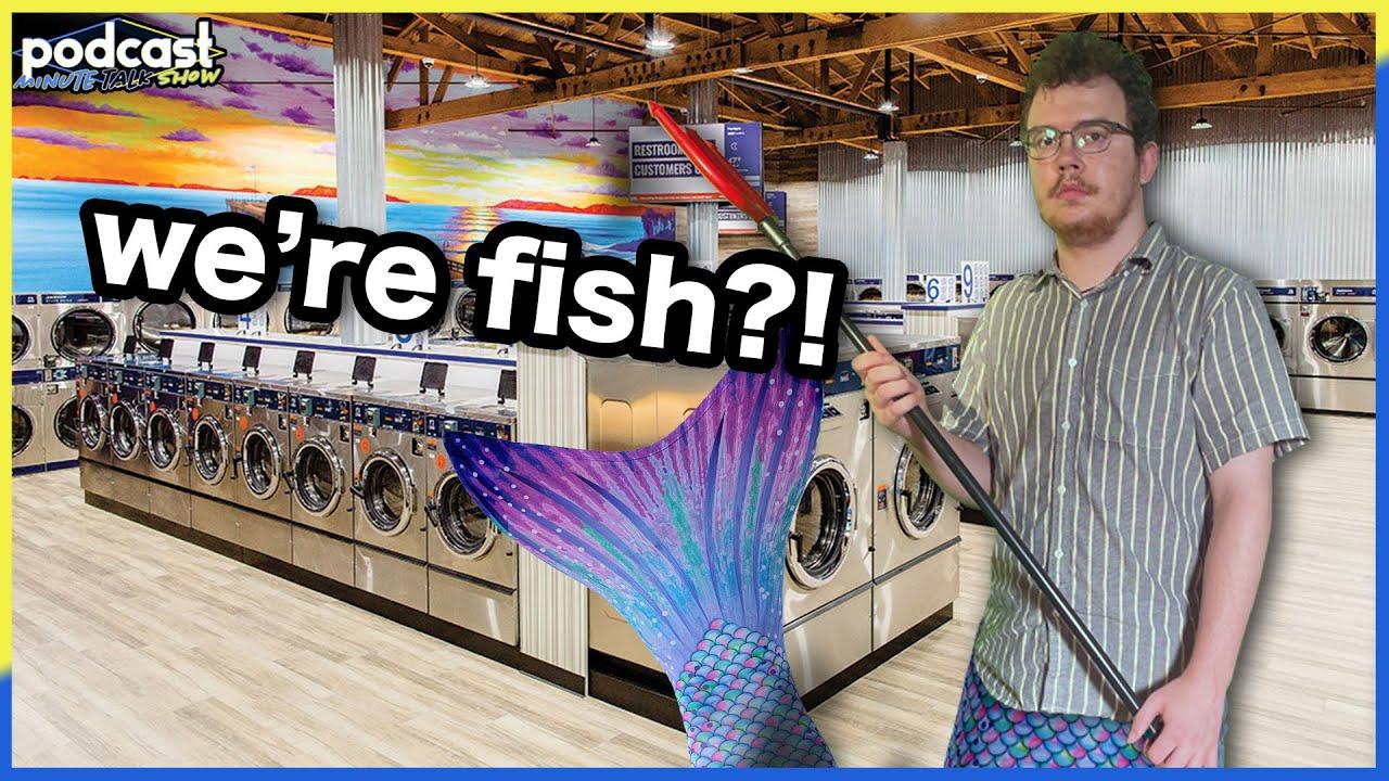 King Neptune Controls The Laundromat   Podcast Minute Talk Show #43