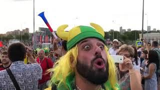 видео Бразильцы в восторге от России. Хотя у нас похожие проблемы