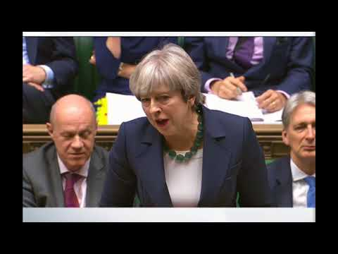Jeremy Corbyn Challenges Theresa May over Brexit and Ireland's Borders in PMQ's HD