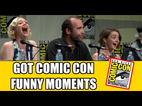 Game of Thrones Funny Comic Con Moments