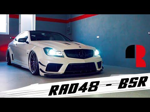 Mercedes Benz C63 AMG Black Series I Rad48 BSR