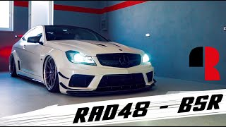 Mercedes Benz C63 AMG Black Series I Rad48 BSR