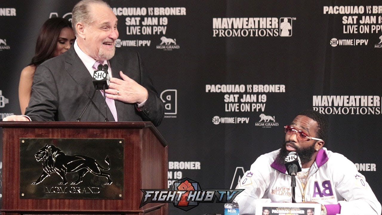 "ADRIEN BRONER GOES OFF ON AL BERNSTEIN ""YOU'RE AGAINST ME!"""