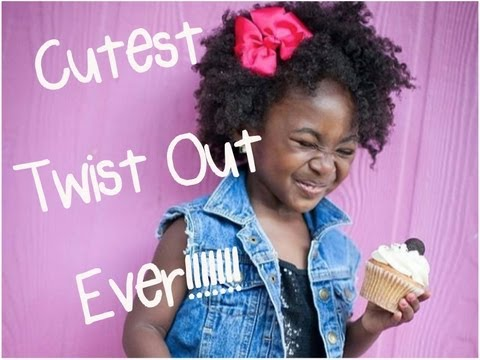 """""""Hairstyles for little girls"""" - Braid and Twist Hairstyle from YouTube · Duration:  41 seconds"""