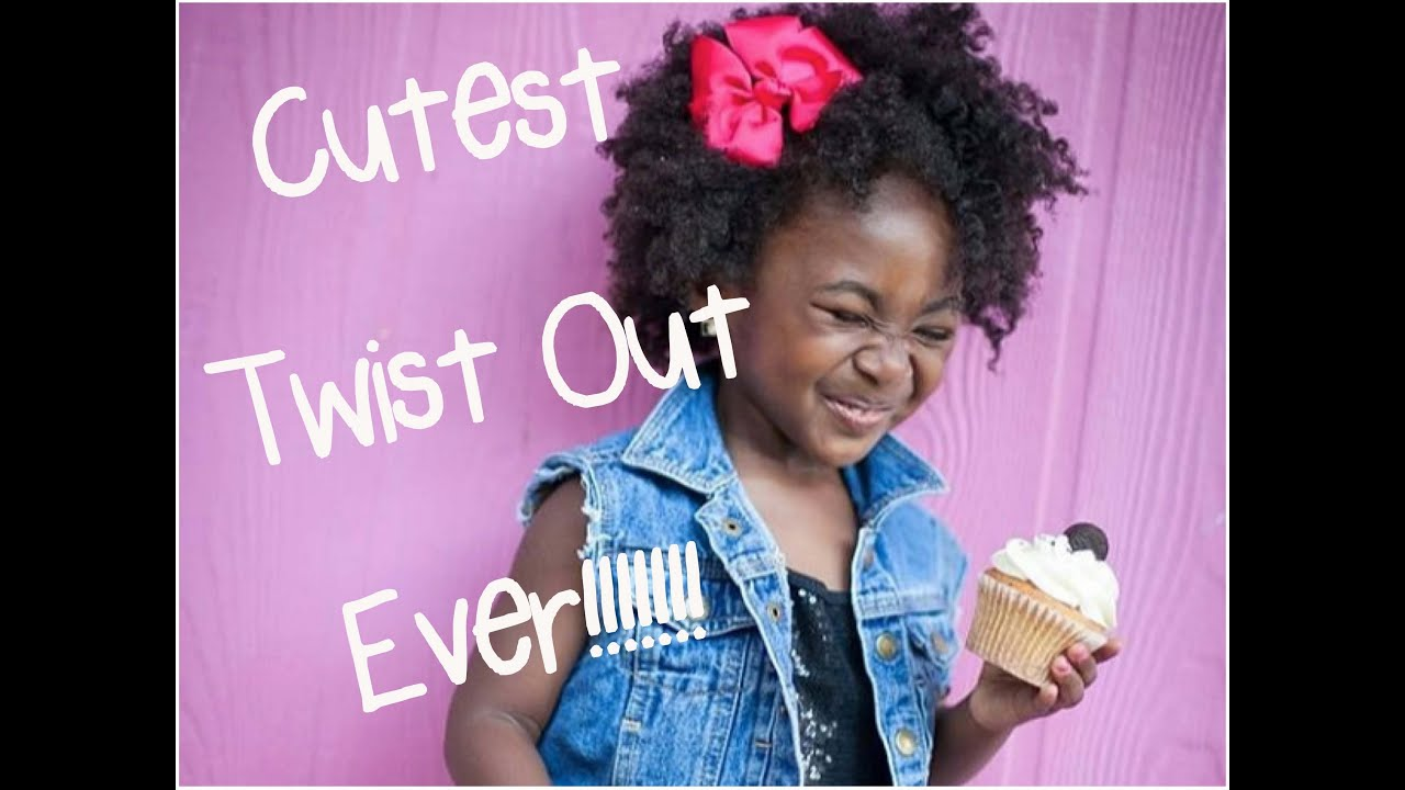 Cutest Twist Out Tutorial Ever Youtube