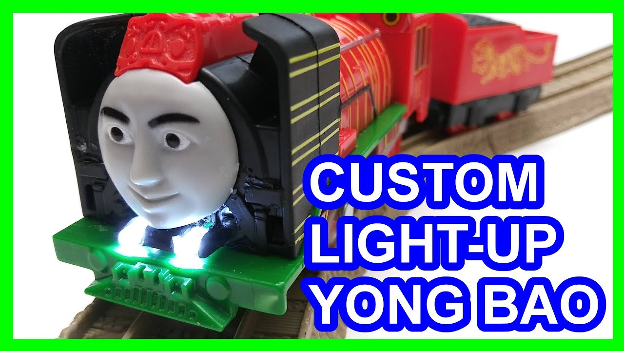 Custom Light-up Yong Bao Trackmaster 2 Thomas & friends Thomas y sus amigos 托馬斯和朋友 Томас и друзья