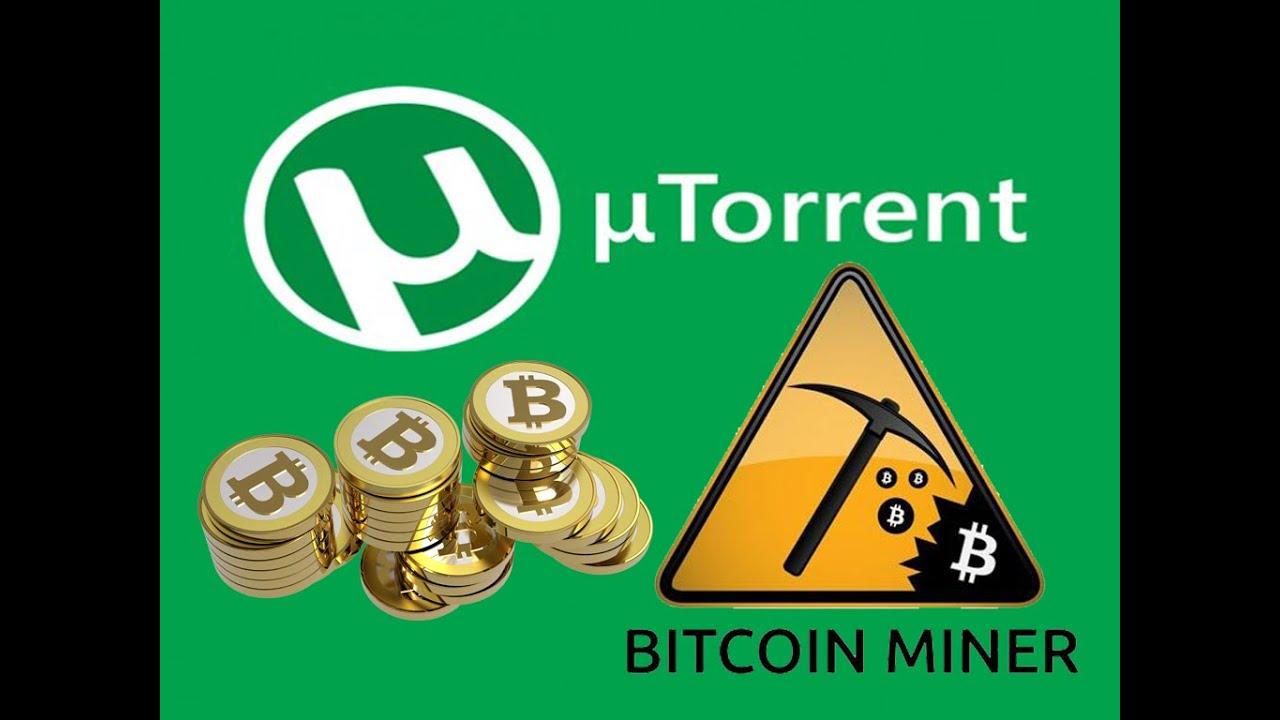 μTorrent Bitcoin Miner!