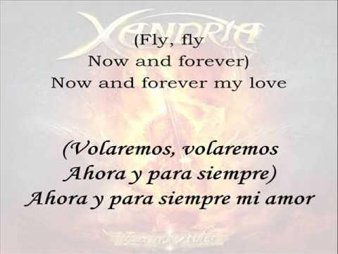 Now and forever (2015 version) - Xandria. Letra en inglés y español.
