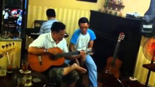 A.Khương Guitar solo-Dấu Chân Địa Đàn