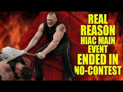 The Real Reason Brock Lesnar Returned to WWE Again! Red HIAC Explained!