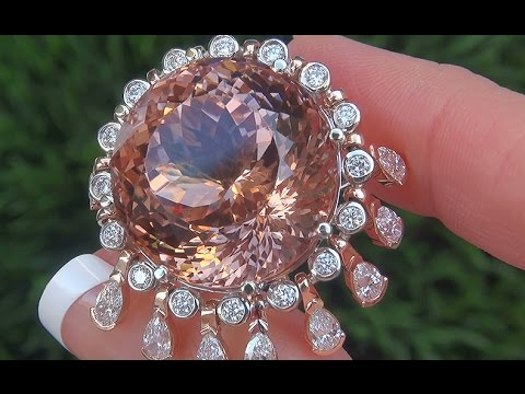 WORLDS LARGEST GIA Certified UNHEATED Pink Morganite