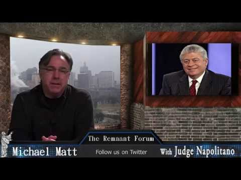 Francis, Femen and an Interview of Judge Napolitano