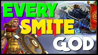 Describing Every SMITE God in 10 Minutes or Less!