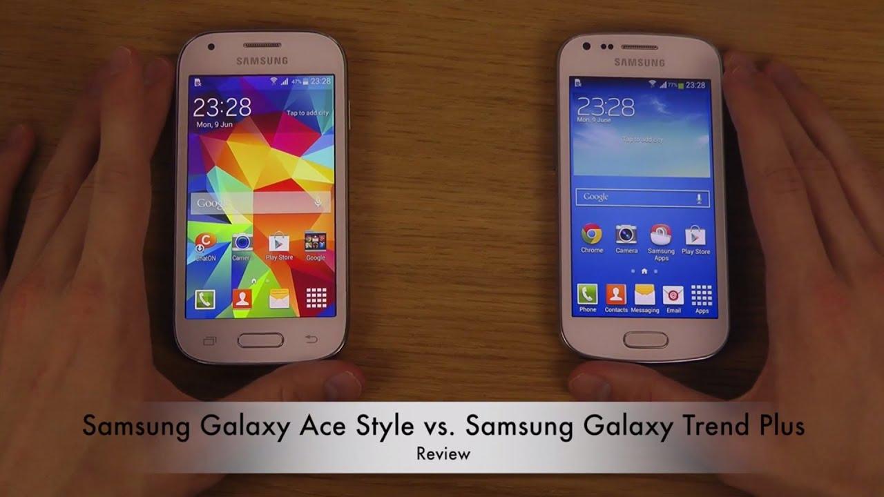 Samsung Galaxy Ace Style Vs. Samsung Galaxy Trend Plus