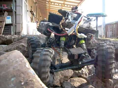 rc rock crawler test w custom cut 2 2 mud slingers youtube. Black Bedroom Furniture Sets. Home Design Ideas
