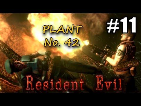 Resident evil hd 11 bloodsuck plant 42 biohazard for Plante 42 resident evil