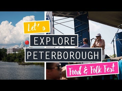 Explore My Home Town With Me // Peterborough Folk Festival!