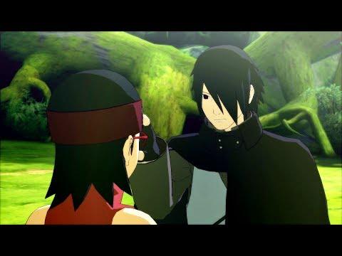 Sasuke Tests Sarada and Boruto Learns The Rasengan   Naruto Shippuden Ultimate Ninja Storm 4 Game  