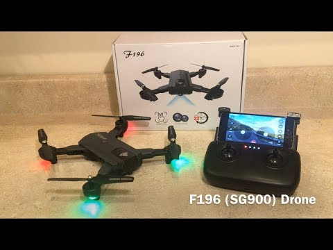 F196 (SG900) Drone Review (GearBest)