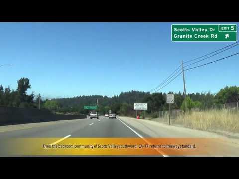 CA 17 San Jose to Santa Cruz, CA