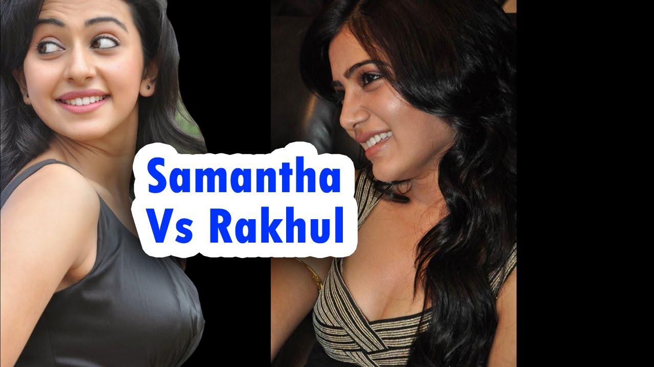 Download Tollywood Actress Rakul Preet Singh Vs Samantha
