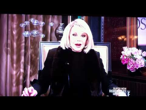 Joan Rivers makes gay joke about Ryan Seacrest on E! Fashion Police