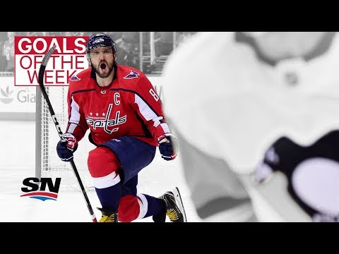 NHL Goals of the Week: Ovechkin exorcises Crosby demons