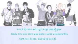 Got7 (갓세븐)- back to me color coded lyrics [han/rom/eng]