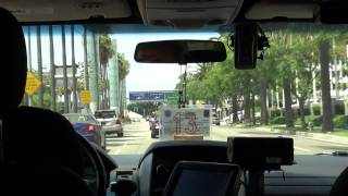 Taxi to LAX - Los Angeles International Airport - HD