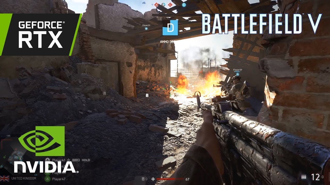 Battlefield V  RTX Rotterdam Gameplay   Captured On a GeForce RTX     Battlefield V  RTX Rotterdam Gameplay   Captured On a GeForce RTX 2080 Ti