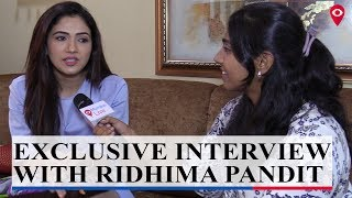EXCLUSIVE : Ridhima Pandit on her TV, Movie journey, Life and more | Mumbai Live|
