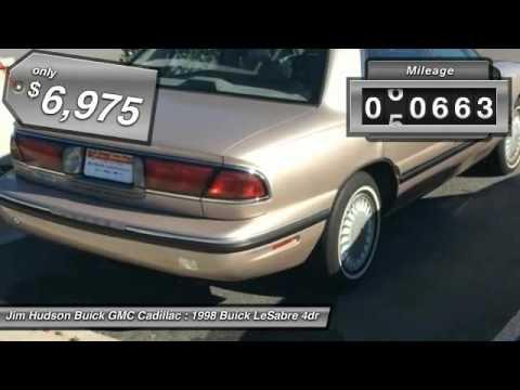 Jim Hudson Cadillac >> 1998 Buick LeSabre Columbia SC 28684-2 - YouTube
