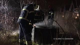 07.03.2019 - Ild i bunker - Lyngby