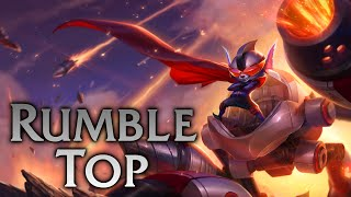 League of Legends | Super Galaxy Rumble Top - Full Game Commentary
