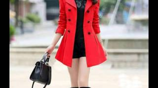 Fashionable Women Winter coats  Trends For Winter 2017-LATEST WINTER COATS &JACKETS FOR WOMEN 2017.