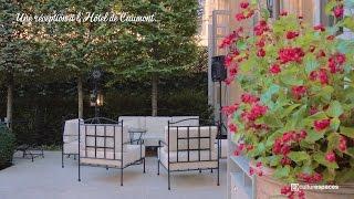Une réception à l'Hôtel de Caumont (Aix-en-Provence)...