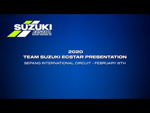 2020 Team Suzuki Ecstar Launch