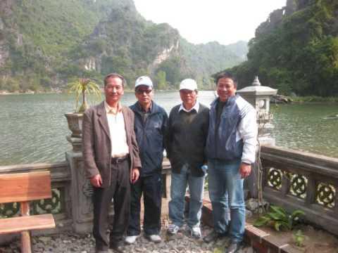 Du lịch Tràng An và đền thờ vua Lê ở Ninh Bình 14/3/2009