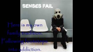 Senses Fail - Family Tradition (w/lyrics)