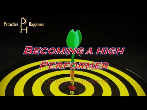How to Become a High Performer
