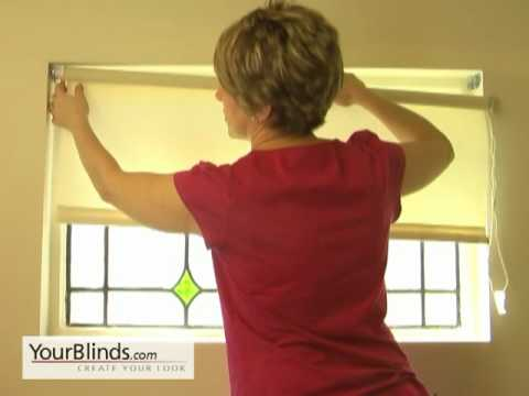 How To Install Roller Shades Inside Mount Yourblinds