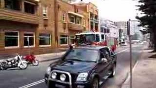 NSW Fire Truck Responding