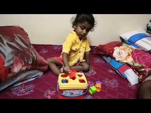 PreSchool Training:  Fisher-Price Brilliant Basics Baby's First Blocks - Shape