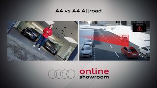 Audi Online Showroom – Audi A4 vs. A4 allroad