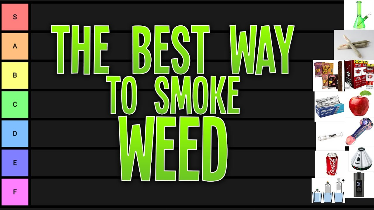 What Is the Best Way to Smoke Weed?