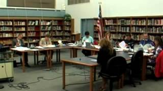 Sept 25, 2013 Westport School Committee Meeting