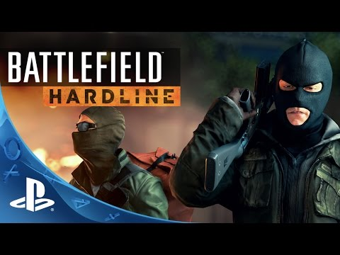 Battlefield Hardline: Official Launch Gameplay Trailer | PS4