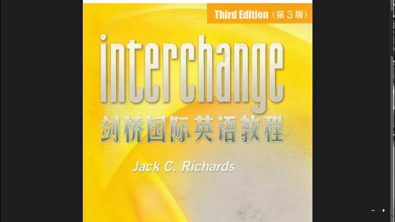 Interchange third edition 1.