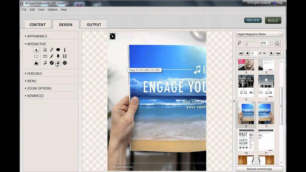 Desktop publishing software and online publisher